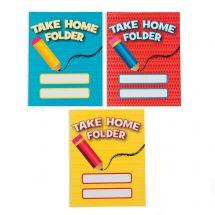 Take Home Pocket Folders