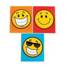 Smiley Pocket Folders