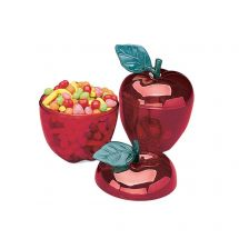 Plastic Red Apple Containers