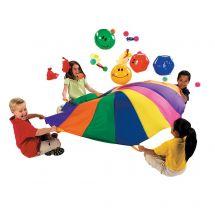 6-ft Rainbow Parachute