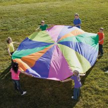 12-ft Rainbow Parachute