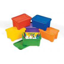 Colour Bins and Lids