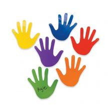 Colourful Hand Accents