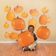 Jumbo Pumpkin Accents