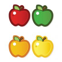 Assorted Apples Accents