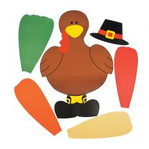 Thanksgiving Turkey Bulletin Board Set