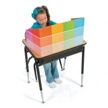 Paint Chip Desktop Privacy Boards