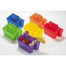 Colour Multi-Compartment Storage Caddie