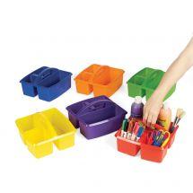 3-Compartment Classroom Storage Caddie