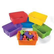 Colour Classroom Storage Tubs