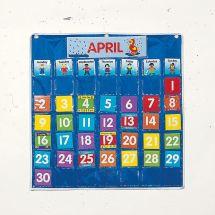 Class Calendar Pocket Chart