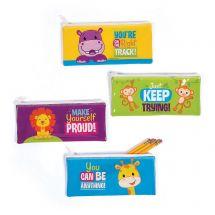 Jungle Motivational Pencil Cases