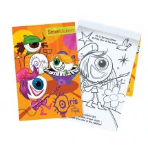 Iris and The Pupils Colouring Books