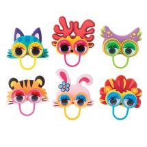 Animal Wiggle Eye Finger Puppets