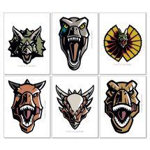Jurassic World Temporary Tattoos