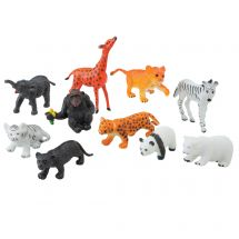 Baby Jungle Animal Figurines