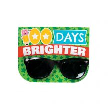 100 Days Brighter Sunglasses with Cards