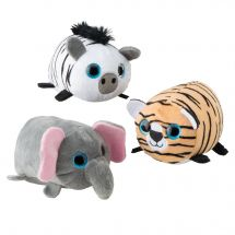 Plush Puffy Safari Animals