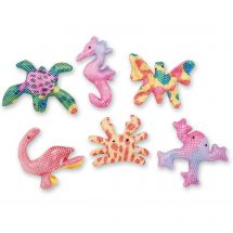 Mini Plush Glitter Animals