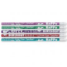 Happy Birthday From Teacher Pencils