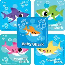 Baby Shark ValueStickers