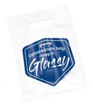 Clear Optometrist Keep it Glassy Bag