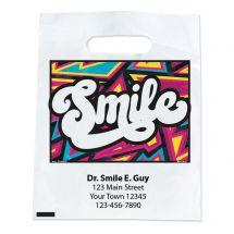Custom Bright Style Smile Bags