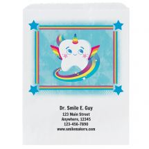 Custom Toothicorn Paper Bags- Small, Large, or Pharmacy
