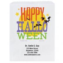 Custom Happy Halloween Paper Bags