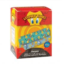 First Aid Looney Tunes Tweety Bandages