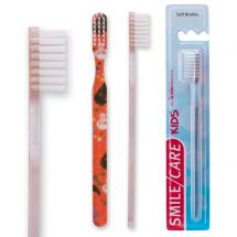 SmileCare Youth Halloween Scatter Print Toothbrushes