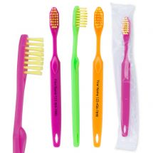 Custom SmileCare Youth Neon Toothbrushes