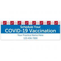 Schedule Your Vaccine Now Banner