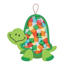 Colourful Turtle Tissue Paper Craft Kits