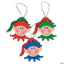 Elf Christmas Ornament Craft Kits