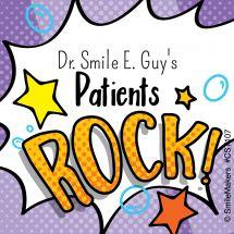 Custom Patients Rock Stickers