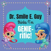 Custom Shimmer & Shine Stickers