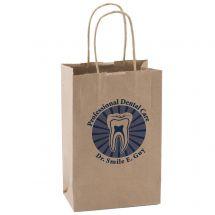 Custom Brown Paper Bags - Small