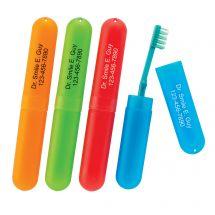 Custom SmileCare Travel Toothbrush Holders