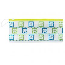 Happy Tooth Dental Zipper Pouches