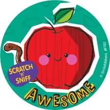 Fruity Scratch n Sniff Stickers