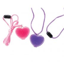 Heart Lipgloss Necklaces