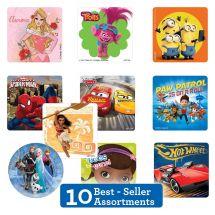 Best Sellers Licenced Sticker Sampler