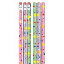 Sparkle Stars Pencils