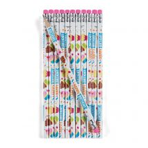 Happy Birthday Treats Pencils
