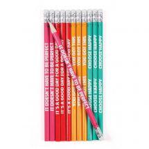 Happy Day Sayings Pencils
