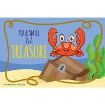 Sea Life Pals Crab Recall Cards