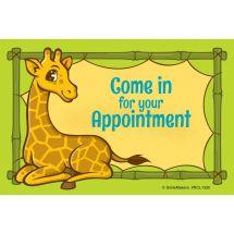 Jungle Friends Giraffe Recall Cards