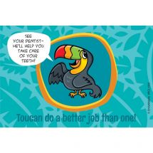 Jungle Friends Toucan Recall Cards