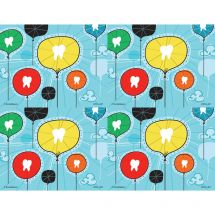 Tooth Balloons Laser Recall Cards